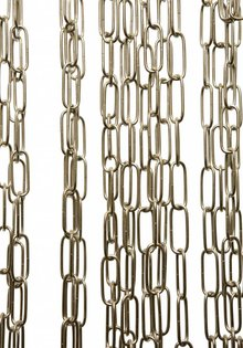Lamp Chain, Big Size Links, Chrome