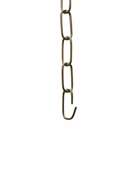Lamp Chain, Big Links, Chrome, 4 x 1,5 cm / 1.57 x 0.59 inch