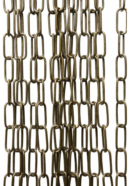 Lamp Chain, Antique Brass Coloured