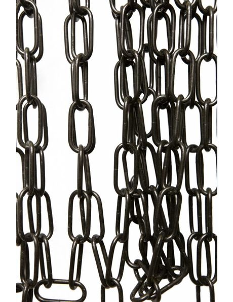 Lamp Chain, big size links, black