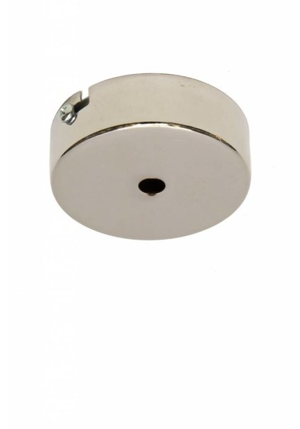 Ceiling Cap or Wall Plate, Chrome