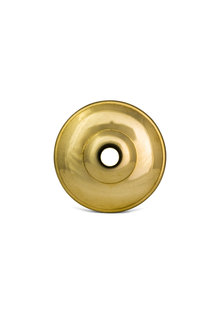 Cover Cap made of Gold Coloured Copper, 6.5 cm (2.6 inch)