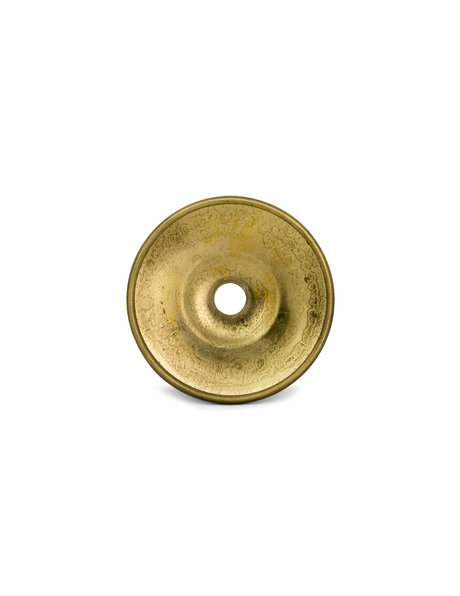 Cover plate, material: copper, colour: gold