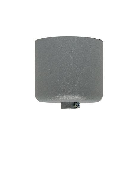 Gray Ceiling Plate, Slight Glitter Effect