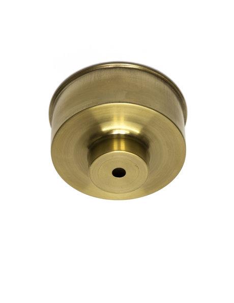 Ceiling Plate, brass, sleek model