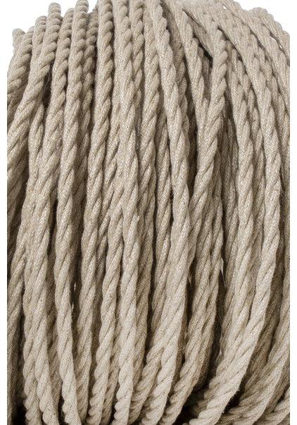 Lamp Wire, Fabric Covered, Jute, Beautifully Braided