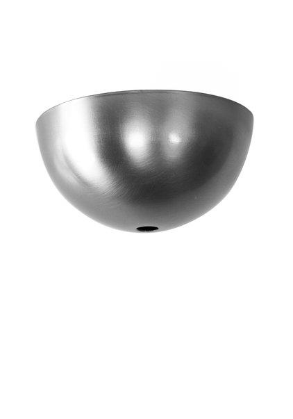 Ceiling Cap, Half Ball Shape (Hemisphere), Matt, Stainless Steel