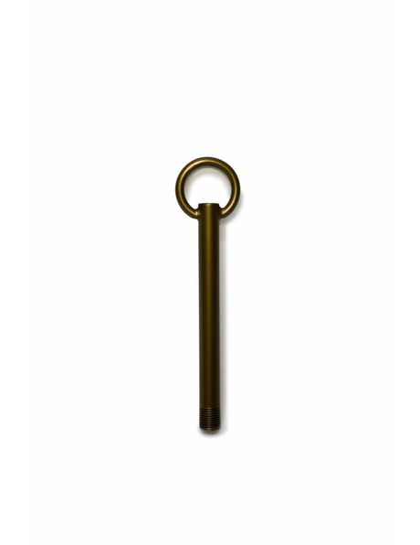 Adjustment Tube (Rod) cm / 4.7 inch length, patinated copper with 1.0 cm / 0.39 inch thread (M10)