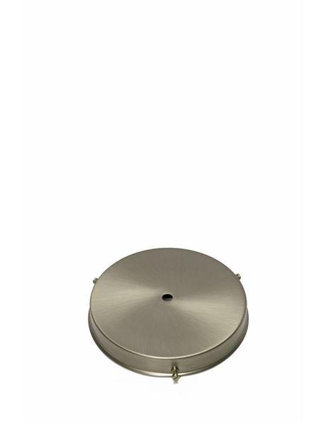 Lamp glass holder, sleek model, matt nickel, grip: 15 cm / 5.9 inch