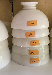 Glass Lampshade Oil Lamp Glasses
