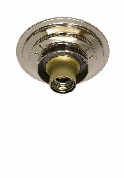 Ceiling Lamp Ring, Chrome, 8 cm / 3.15 inch