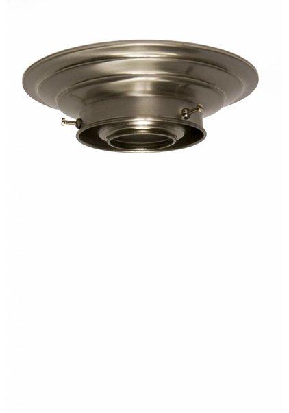 Ceiling Lamp Ring, Matt Nickel, 8.0 cm / 3.15 inch