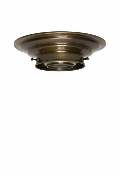 Ceiling Lamp Ring, Brown Copper, 8.2 cm / 3.2 inch