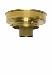 Ceiling Lamp Ring, Gold Brass, 8.0 cm / 3.15 inch