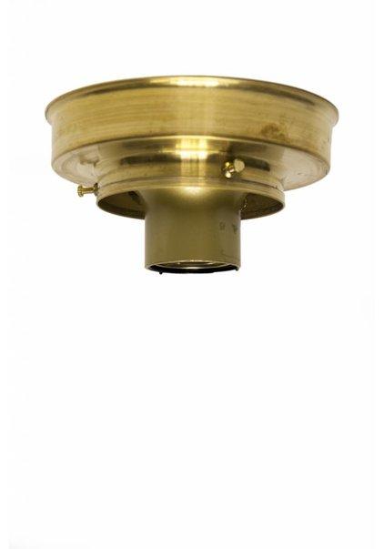 Plafonniere ring, goud messing, 8.0 cm