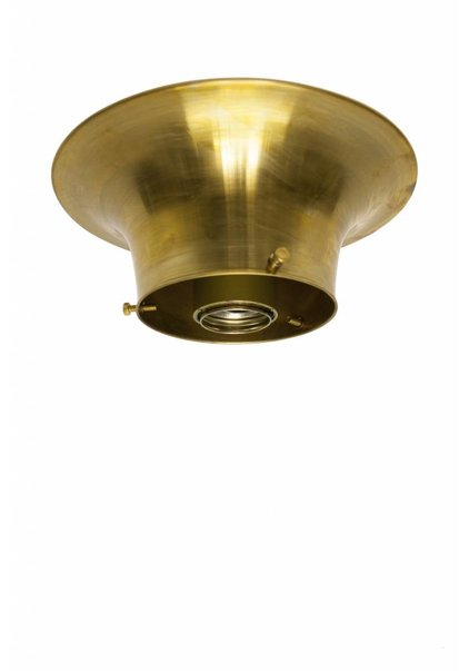 Lamp Ceiling Ring, Brass, 10 cm / 3.9 inch