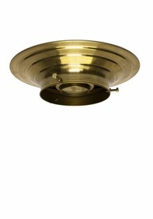 Lamp Ceiling Ring, Gold Brass, 10.0 cm / 3.94 inch