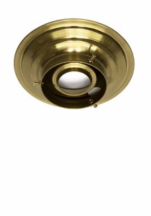 Ceiling Lamp Ring, Copper (Brass) , 8 cm / 3.15 inch
