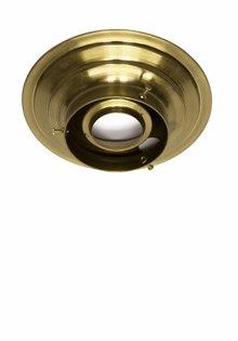 Plafonniere ring, koper, 8 cm