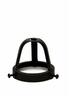 Lamp Shade Holder, Black, 6 cm / 2.36 inch, Open Model