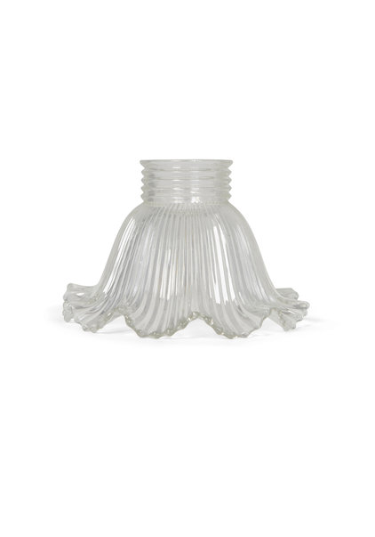 Industrial Lampshade, Thick Glass