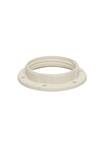 Shade Ring, For Big Size Lamp Socket (E27 Fitting), White