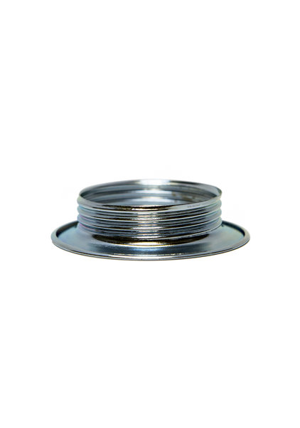 Shade Ring, Silver Colour, E27 Fitting