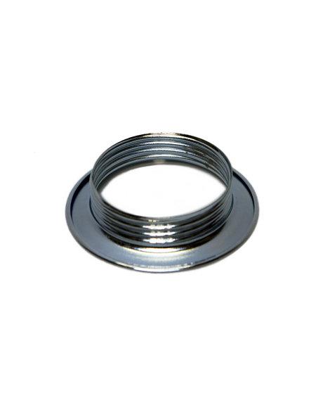 Fitting e27 shade ring, chrome