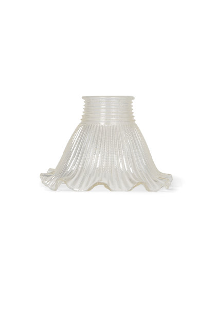 Glass Lampshade, Industrial Glass