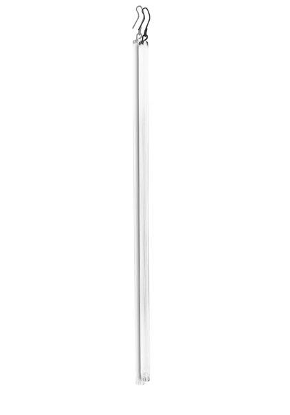 Art Deco Bead, Solid Glass Rod