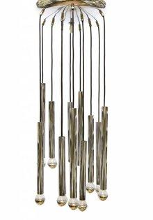 Cascade Pendant Lamp, Sciolari, 1960s