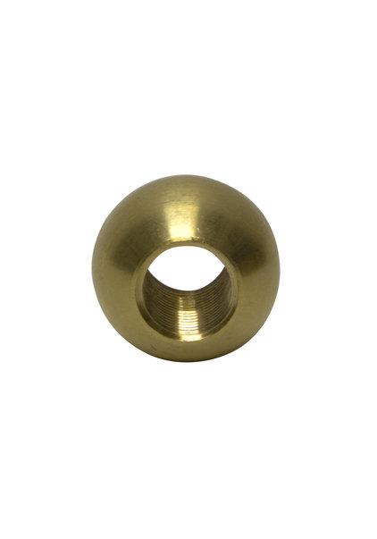 Sier Bolletje Messing, 1.0 cm Opening