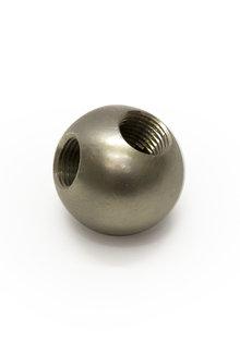 Hoekverbinding, 2.5 cm Diameter, Mat Nikkel