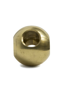 Pipe Connector, Sphere, For 1.3 cm / 0.51 inch (M13) Rod