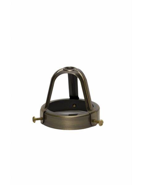 Glashouder, 6 cm, open model.