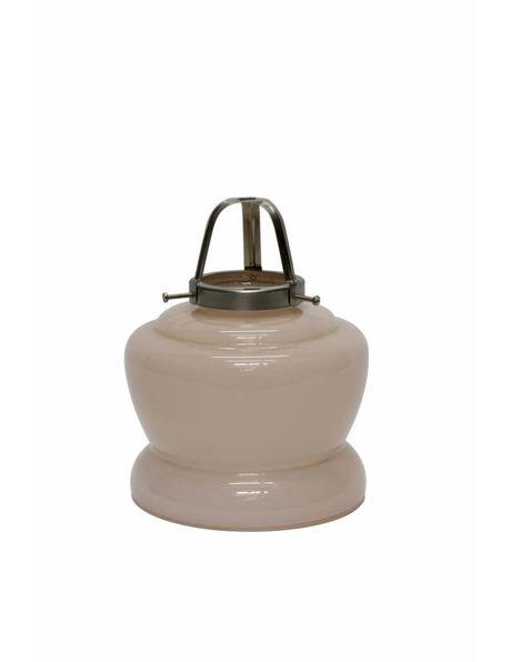 Glashouder, 6 cm greep, hoog model