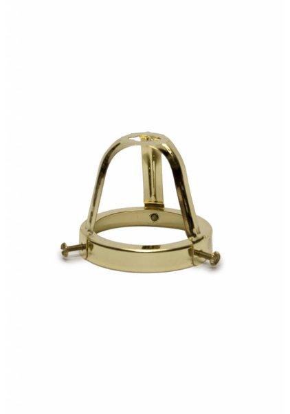 Lamp Shade Holder, Brass, Open, High Model