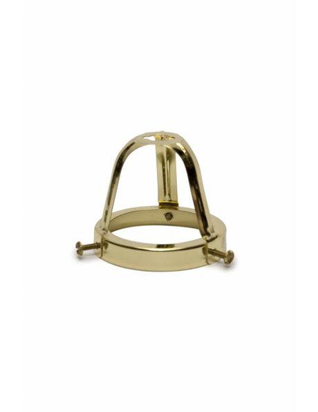 Glass holder, grip: 6 cm / 2.4 inch, open model