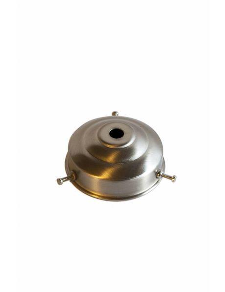 Glass Holder, grip: 6 cm / 2.4 inch, matt nickel