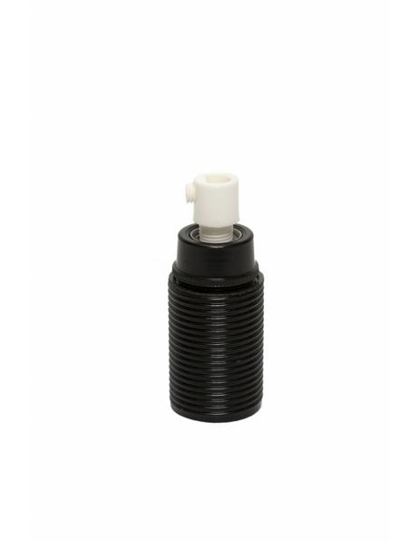 Cord Strain Relief (Cord Grip), black, plastic