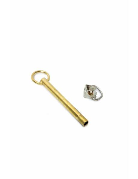 Adjustment Tube, Brass Colour + Hook Gripper M10