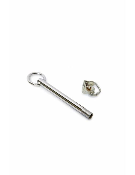 Adjustment tube, chrome + hanging hook M10