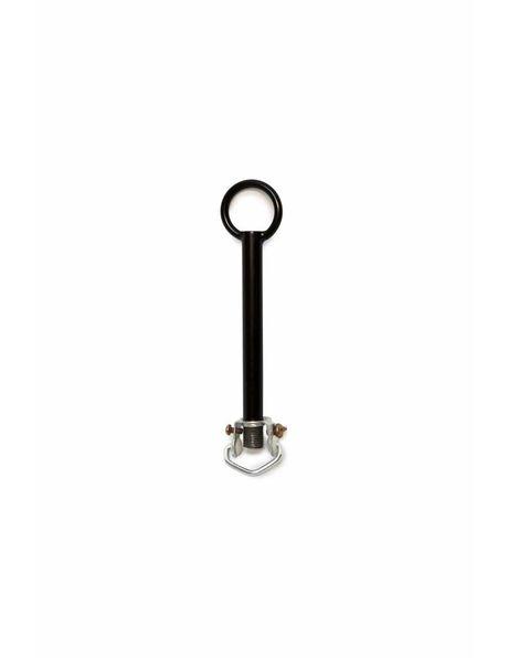 Adjusting tube, black + hanging hook M10