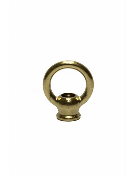 Hanging loop, brass, middle sized model, M10x1