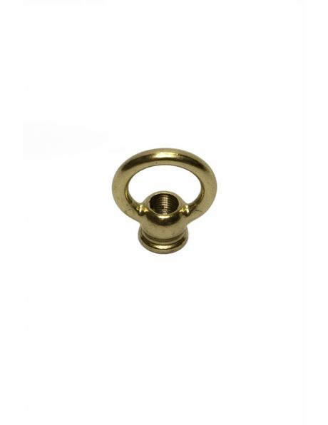 Hanging Loop, brass, small model