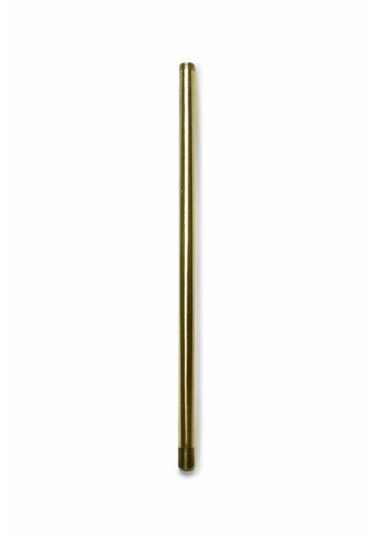 Pipe, 30 cm / 11.8 inch, M13, Polished Brass