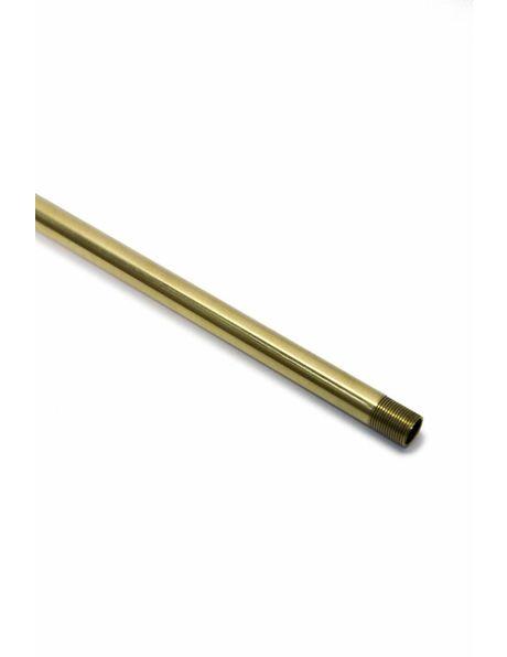 Stang, 30 cm, M13, Messing gepolijst