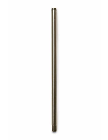 Tube, 30 cm / 11.8 inch, M13, Matt Nickel