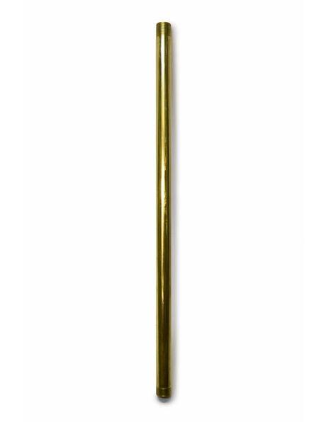 Stang, 30 cm, M13, Messing Ruw