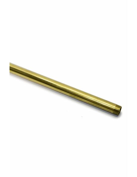 Pipe, 30 cm / 11.8 inch, M13, Coarse Brass